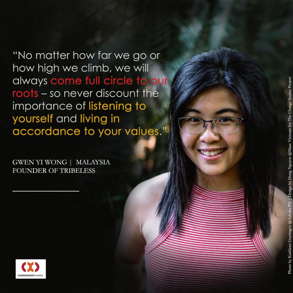Wong Gwen Yi, Founder Tribeless