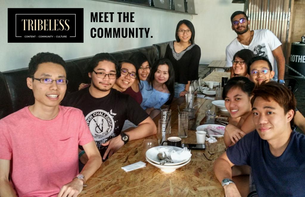 Tribeless Kuala Lampur Community Day July 2017